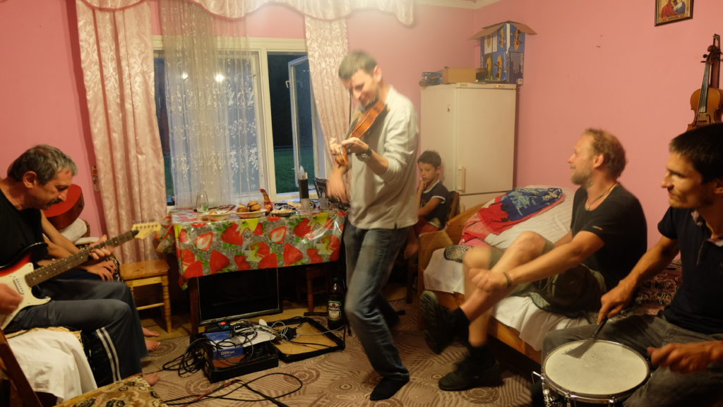 Unerwartete Jam Session